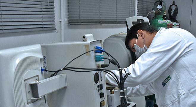 Senai devolve a hospitais mais de mil respiradores consertados