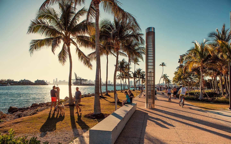 Miami Beach torna obrigatório o uso de máscaras em espaços públicos