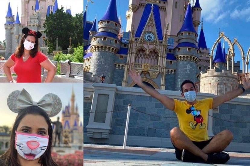 Disney relaxa política de uso de máscara para visitantes