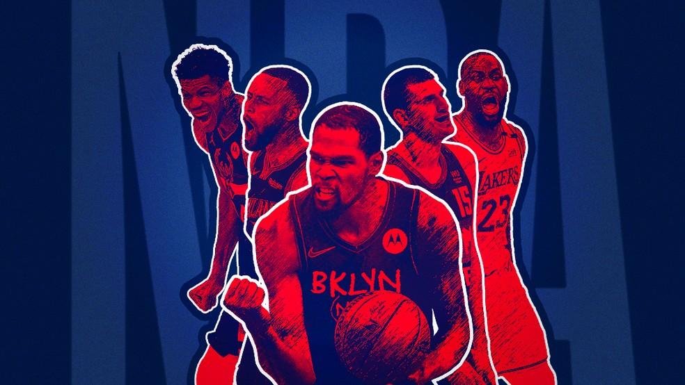 NBA 30 dias, 30 times: confira a prévia da temporada 2021-2022